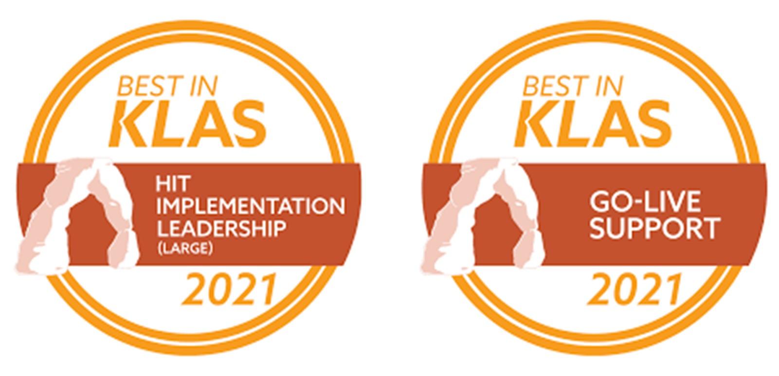 Engage KLAS logos 2
